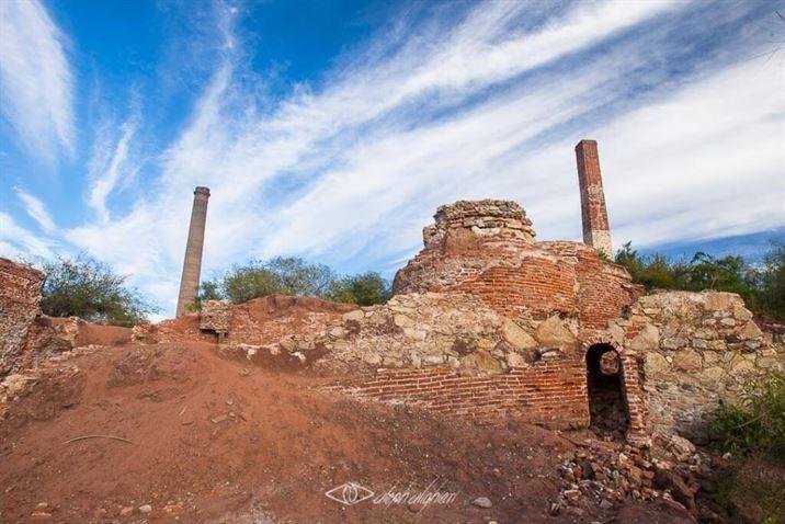 Ruinas de Mina, El Triunfo, La Paz, Baja California Sur